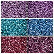 300 beads 6 colours Set PCH 003 Pinch Czech Pressed Glass Beads Triquetrous 5x3.5mm, PCH5011 PCH5012 PCH5019 PCH5020 PCH5031 PCH5032