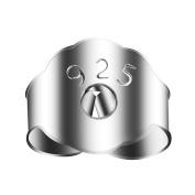 Andux Earrings Back Silver 925 Earnuts 10PCS 925 EHK-01