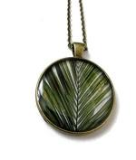Palm Tree Necklace, Palm branch pendant, Palm tree Jewellery, palm jewellery, summer jewellery, summer necklace, leaf, palm tree, summer holiday