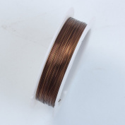 Brown Colour Wire 26 Gauge,Thickness 0.4MM WBW-101-26G
