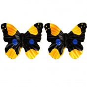 Set of 2 Furniture Drawer Handles Decorative Butterfly Cabinet Drawer Knobs, B