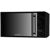 Microwave with mirror frontal / simple microwave / cheap microwave / microwave/ basic microwave / black microwave