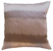 Pillow Cover Case Cushion *** Grey *** Thai Silk THROW 44 cm x 44 cm Wave elegant nice beautiful