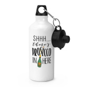 Shhh There's Prosecco In Here Sports Bottle