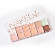 Miskos 12 colours Concealer Palette Naked4 Brand Professional Cosmetic Camouflage Face Makeup Concealer Palette