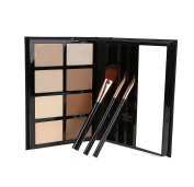 Hot Sweety Makeup 8 colours Face Powder Contour Bronzer Shading Mineral Pressed Powder Kit palette