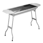Outdoor Thickened Charcoal Grill Carbon Oven Portable Barbecue Stainless Steel Barbecue Pits