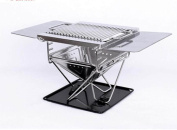 Outdoor Ultra-mini Mini Barbecue Grill Stainless Steel Grill Folding Portable Grill 1 ~ 2 People Carbon Oven