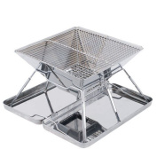 Thickened Stainless Steel Barbecue Pits Home Charcoal Barbecue Outdoor Portable Barbecue