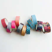 11 rolls of Basic Washi Tape Bundle Package (as shown in photo) // 10 metres Long // Japanese Washi Tape // Decoration Tape // Best Seller // Lunarbay Washi Tape // Lunarbaystore.com