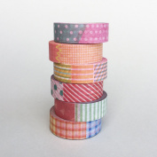 6 rolls x Basic Washi Tapes Bundle Package / For Her / For Kids / Gift / Cool washi tape / Decoration Tape / Lunarbay Washi Tape / Lunarbaystore.com