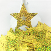 Star Sequins Cardboard Decorative Balloon Pendant Card,100pcs