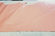 NAT Leathers Pink semi shiny Nappa 2.5-3.0 upholstery craft, shoe, bookbinding Handbag Cowhide Genuine Cow Leather Hide Skin 1.6sqm