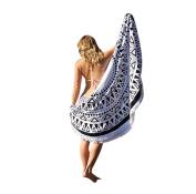 Morecome Women Round Beach Throw Roundie Mandala Towel Scarf