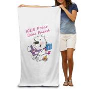 Beach Towel ICEE Polar Bear Faded Microfiber Towel