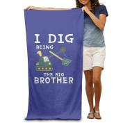 Beach Towel I Dig Being The Big Brother Microfiber Towel