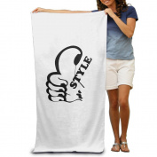 Beach Towel Music Headset Style Microfiber Towel