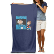 Beach Towel The Doctor Is In Funny Microfiber Towel