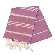Birchwood Chaput's Didyma Style Turkish Hand Towel, Purple