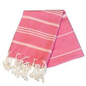 Birchwood Chaput's Didyma Style Turkish Hand Towel, Pink