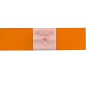Alberts Large Crepe Paper - Orange - 50cm x 250cm