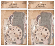 2-PACK - Expedition Ephemera Pack by Tim Holtz Idea-ology