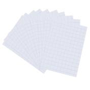 Bememo Vinyl Transfer Tape Paper 29cm x 21cm Iron on Heat Transfer Paper, 10 Pack