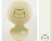 SoapRepublic Cat Acrylic Soap Stamp / Cookie Stamp / Clay Stamp
