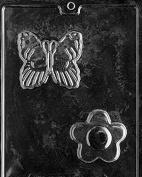 F088 Butterfly Flower Soap Bar Mould