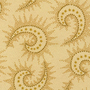 Henry Glass Light Tan Spiced Paisley 270cm Wide Quilt Backing Fabric By The Yard