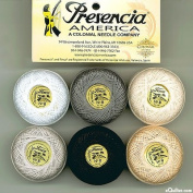 Presencia Finca Perle Cotton Thread Sampler Pack, Size 5 / 10 gramme - NEUTRAL
