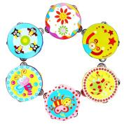 Rosiest Kids Baby Children Musical Instrument Toys Hand Bell Drum Tambourine Toy