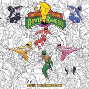 Mighty Morphin Power Rangers Adult Coloring Book