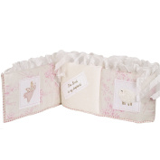 Cotton Tale Designs Heaven Sent Bumper, Pink/Cream