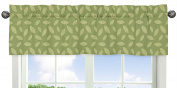 Leaf Print Window Valance for Jungle Time Collection