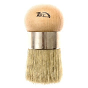 1st Place Large Wax & Chalk Paint Brush - Comfortable to Use - Great for Arthritic Hands - Hand Made - Natural Bristles