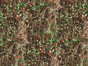 """1 Yard-The Wizard of Oz """"""""The Talking Apple Trees"""" Sewing, Quilting, Craft Fabric"""