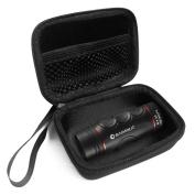 FitSand (TM) Travel Carry Zipper EVA Hard Case for BARSKA Blueline 8x22 Waterproof Golf Scope