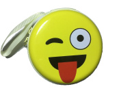 1 Pcs Funny Cute Coin Steel Case Change Wallet with Hand Rope Great Gift for Children