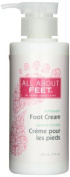 Upper Canada Soap & Candle All About Feet Peppermint Soothing Foot Cream, 300ml Pump Bottle by Upper Canada Soap & Candle
