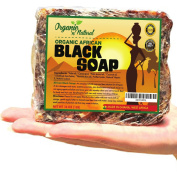 Premium Organic N Natural African Black Soap - Natural Face & Body Wash For All Skin Types - No Added Scents, Fillers, Or Fragrance - Authentic Beauty bar From Ghana, West Africa