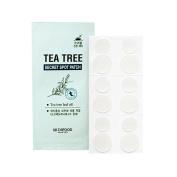 [Skin Food] Tea Tree Secret Spot Patch + SoltreeBundle Oil blotting Paper 50pcs