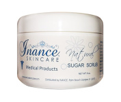 Inance Sugar Scrub, Natural Based Non-ionic Skin Cleanser by Beauty Expert Tonia Ryan, 240ml