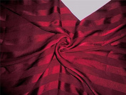silk chiffon 2.5cm satin stripe fabric maroon 110cm chiffonstripe[4]