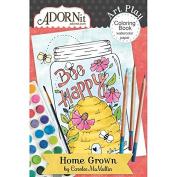 Home Grown Mini Colouring Book