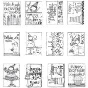 Make a Wish Mini Colouring Book