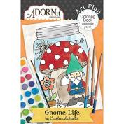 Gnome Life Mini Colouring Book
