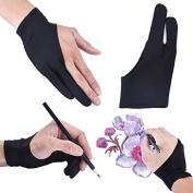 Artist Drawing Glove Free Size For Graphic Tablet Drawing