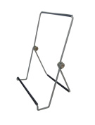 Fixture Displays Unit of 4 Wire Easel for Table Top with 3.8cm lip, Wide Base, 5-5/8 x 8-3/4 - Black 19465 19465-4PK-NF