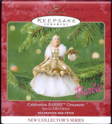 QXI6821 Celebration Barbie 1st 2000 New Collector's Series Hallmark Keepsake Ornament [Special Edition]